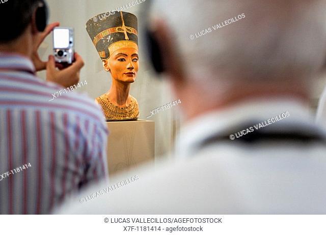 Museum Island Neues Museum  Nefertiti Egyptian art  Berlin  Germany
