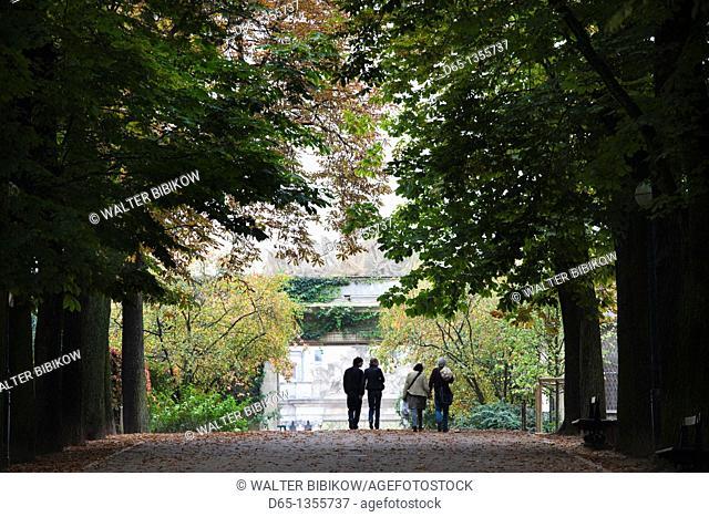 France, Meurthe-et-Moselle, Lorraine Region, Nancy, Parc de la Pepiniere, autumn
