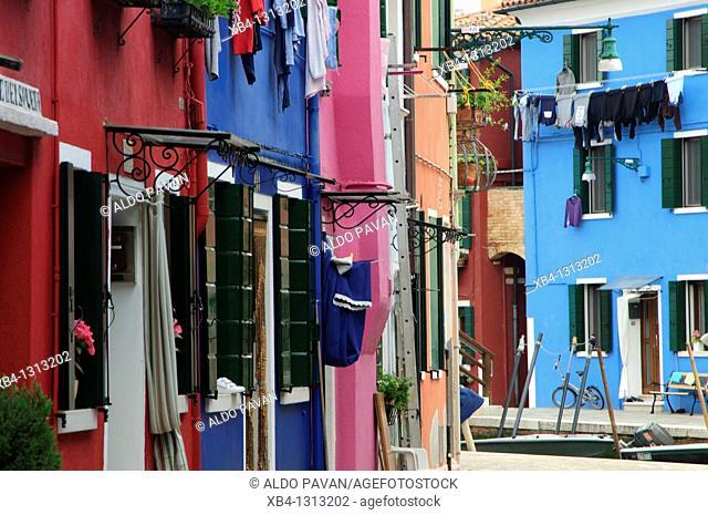Italy, Venice, Burano island