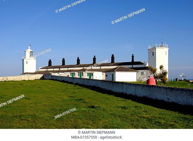 Lighthouse, Lizard Lighthouse, Lizard Point, Lizard Peninsula, Cornwall, England, UK