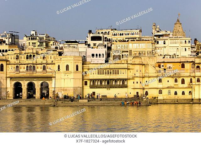 Pichola Lake,Udaipur, Rajasthan, india
