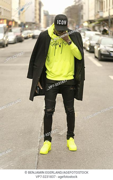 streetstyle, man, Munich, Germany
