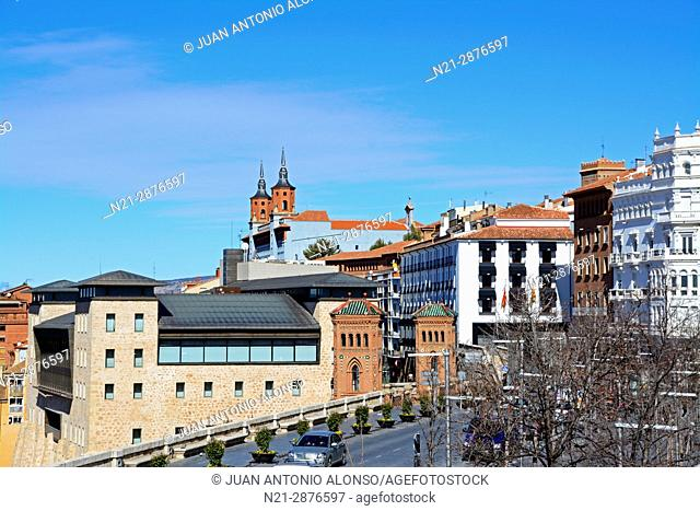 Partial view of the city of Teruel, Aragón, Spain, Europe