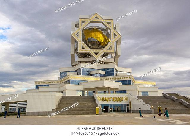 Ashgabat, Turkmenistan, Central Asia, Asia, Wedding, Wedding Palace, architecture, building, city, landmark, marble, palace, symbol, touristic, travel, weird