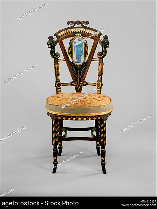 Side Chair. Maker: Attributed To Pottier And Stymus Manufacturing Company  (active Ca.