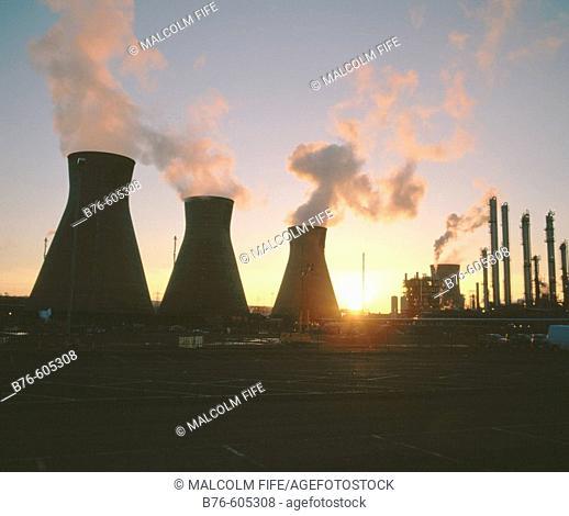 Petro-chemical plant. Grangemouth. Scotland