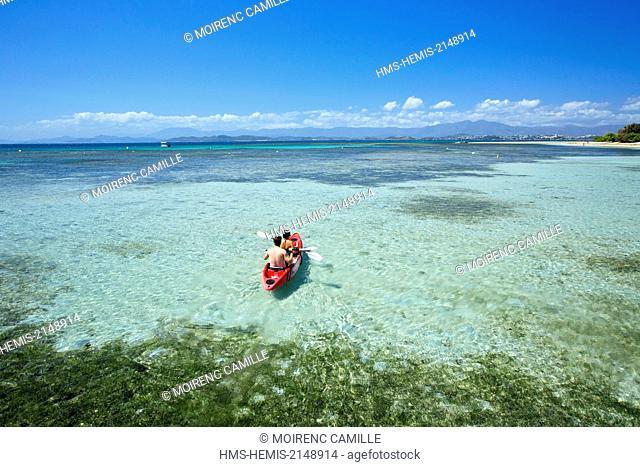 France, New Caledonia, Grande-Terre, Southern Province, Noumea, Ilot Maitre