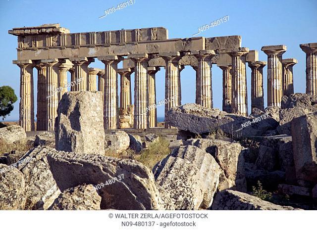 Temple E, Selinunte. Sicily, Italy