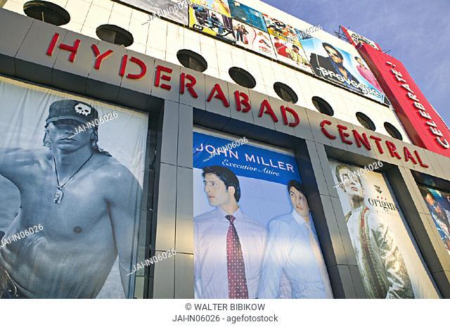 Shopping mall, Hyderabad, Andhra Pradesh, India