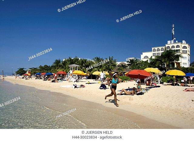 Jamaica Montego Bay beach Dr Caves beach
