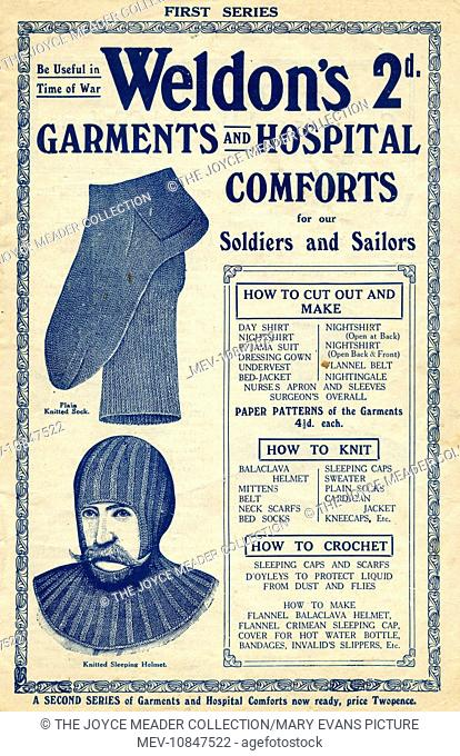 First world war hand craft Stock Photos and Images | age