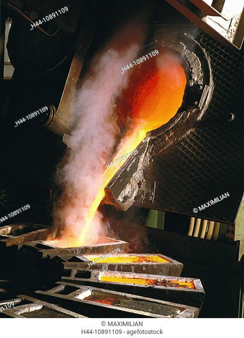 Dangerous, Furnace, Gold, Hazard, Heat, Hot, Industrial, Industry, Metal, Metals, Molten, Pouring, Precious, Rare, Recyle, Recyc