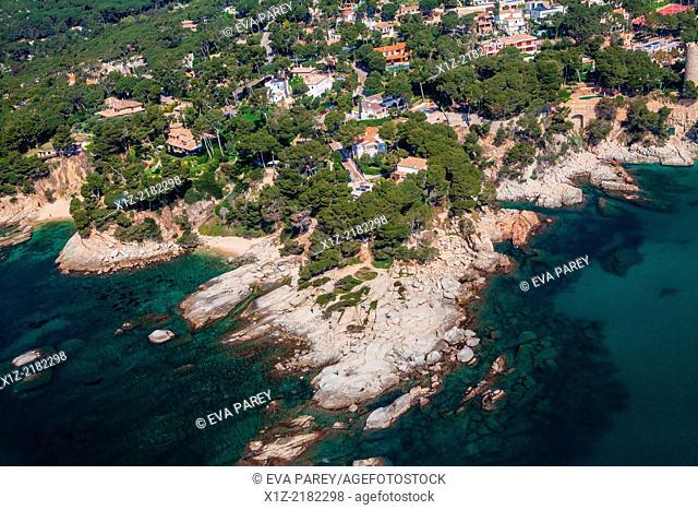 Roques Planes in Platja d'Aro. Costa Brava