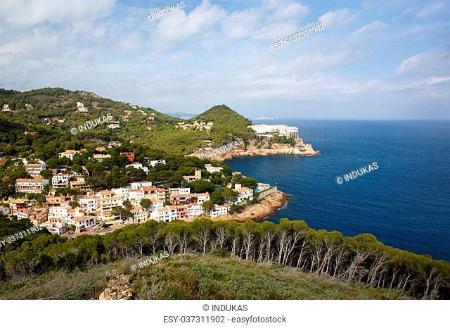 Sa Tuna coast in Costa Brava, Spain