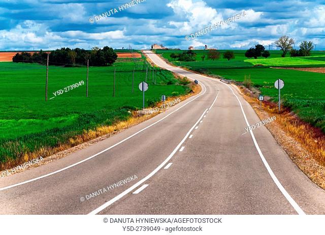 rural landscape, Burgos province, Castilla Leon, Castile-Leon, Spain, Europe