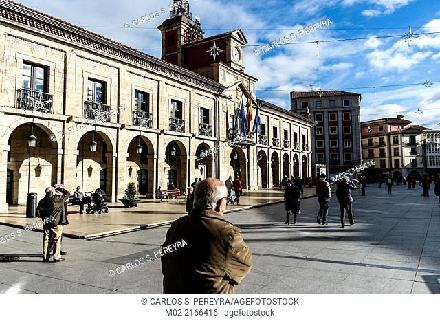 City of Aviles, Asturias, Spain