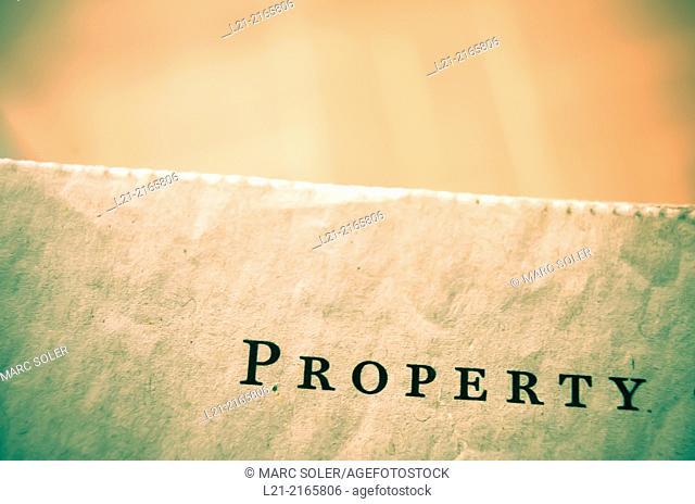 Property, word