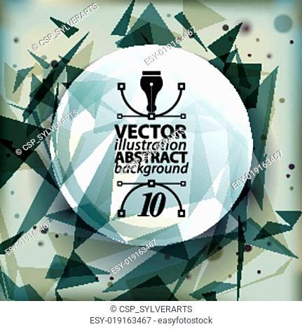 Spatial vector eps10 backdrop