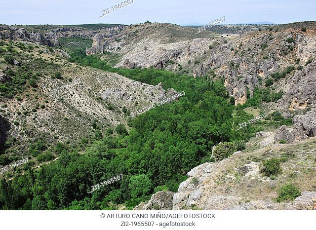 Rio Dulce Canyon Natural Park. Guadalajara, Spain