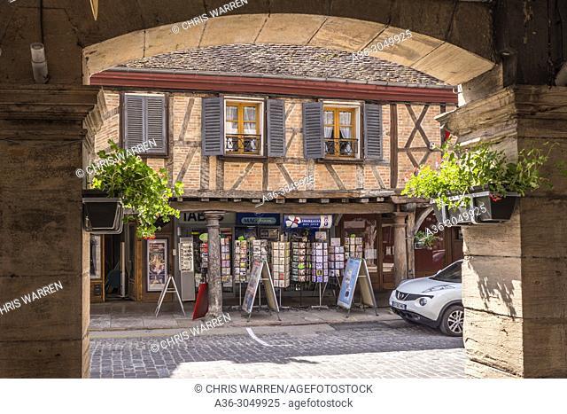 Grande-Rue Louhans Saone-et-Loire Bourgogne-Franche-Comte France