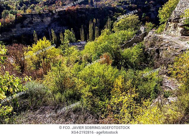 Autumn in Montanyana - Ribagorza - Province of Huesca - Aragon - Pyrenees - Spain - Europe