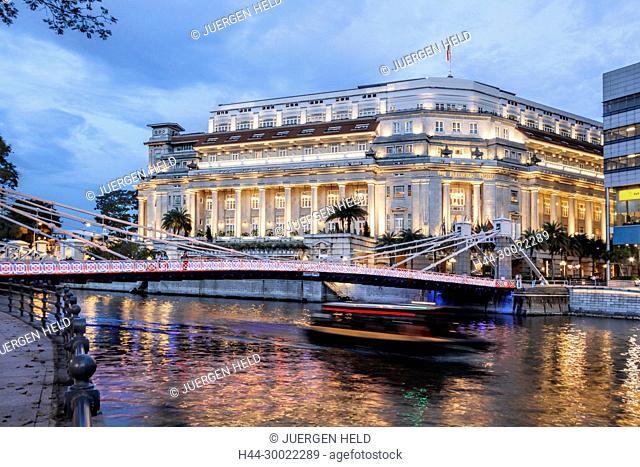 The Fullerton Hotel , Singapur Asia