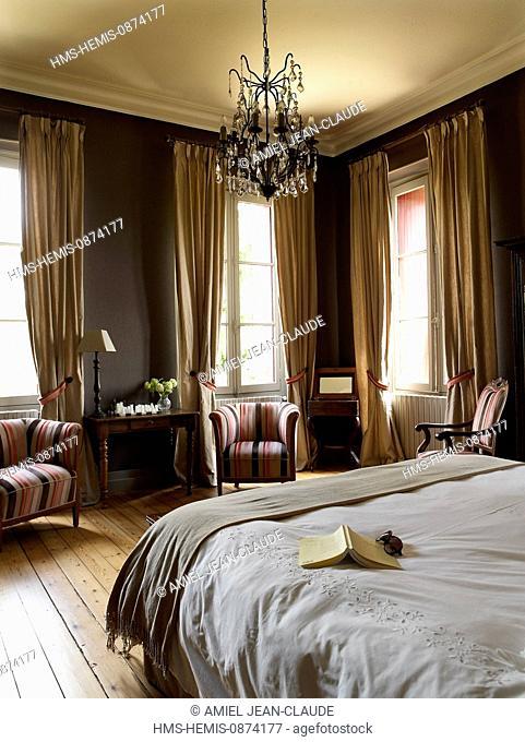 France, Gironde, feature : Le Grand Bordeaux et le bassin d'Arcachon, Montussan, Chateau Lavergne Dulong, bed and breakfast
