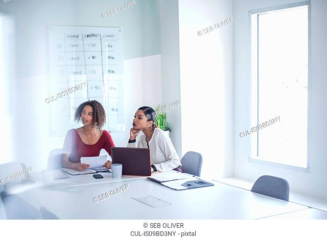 Businesswomen in meeting in office