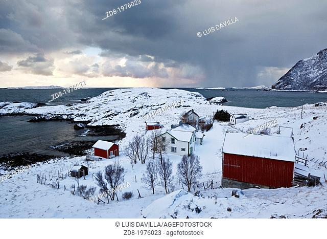 hoydal in vesteralen island