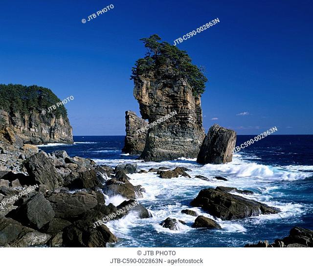 Sannno Rock, Taro, Iwate, Japan