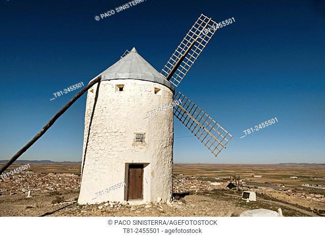 Windmill, La Mancha, Spain