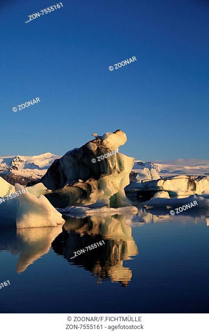 Gletscherlagune Jökulsárlón Island