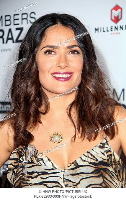 Salma Hayek-Pinault 06/21/2016 The Premiere of Septembers of Shiraz held at The Museum of Tolerance in Los Angeles, CA Photo by Izumi Hasegawa / HNW /...