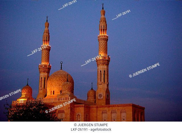 Jumeira Mosque, Dubai, UAE