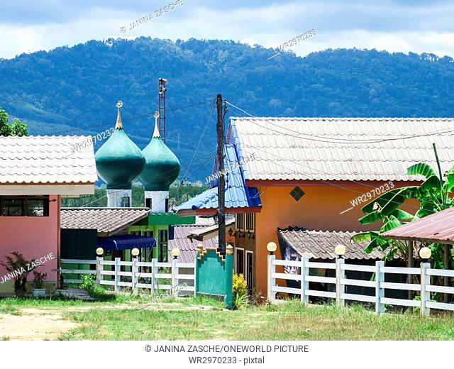 Thailand, Chang Wat Phang-nga, Tambon Khuekkhak, Baan Village Sam Chong Nua