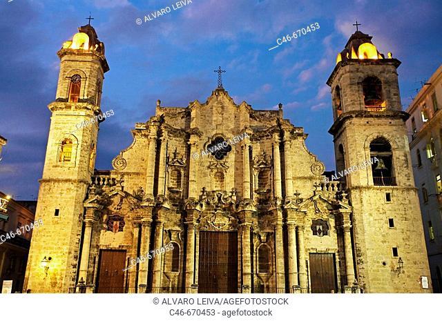 San Cristobal Cathedral. Habana, Cuba