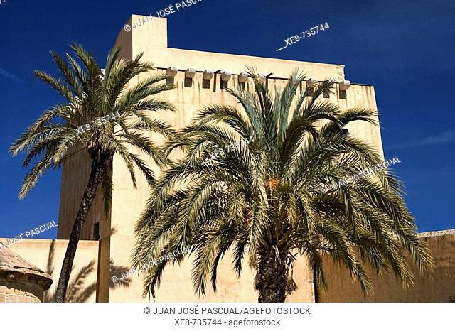 Castle of the Marquis of Velez, Cuevas del Almanzora. Almeria province, Andalucia, Spain