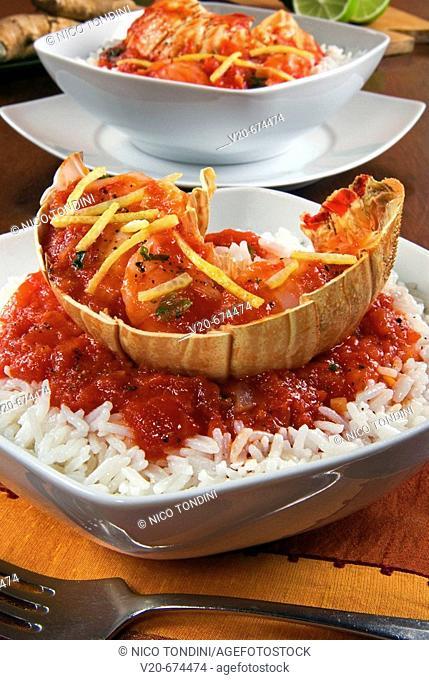 Madagascar food, Malagasy Lobster