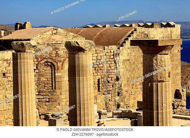 Lindos, Rhodes, Dodecanese Islands, Greece