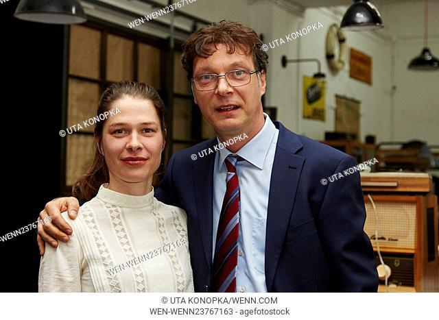 "New ARD series """"Frau Temme sucht das Glueck"""" Featuring: Meike Droste, Martin Brambach Where: Cologne, Germany When: 19 Apr 2016 Credit: Uta Konopka/WENN"