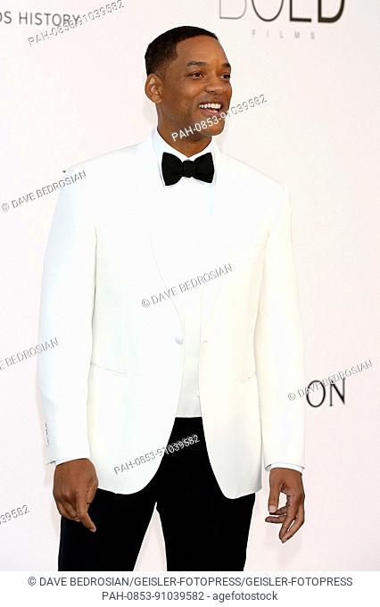 Will Smith attending the amfAR's 24th Cinema Against Aids Gala during 70th Cannes Film Festival at Hotel du Cap-Eden-Roc in Antibes on May 25