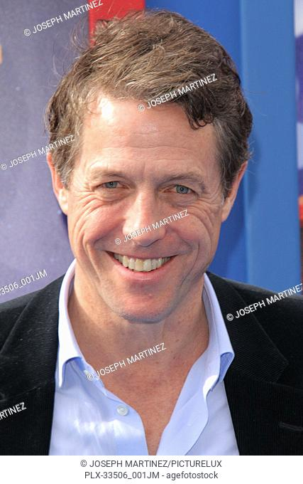 """Hugh Grant at the Premiere of Warner Bros' """"""""Paddington 2"""""""" held at the Regency Village Theatre in Westwood, CA, January 6, 2018"""