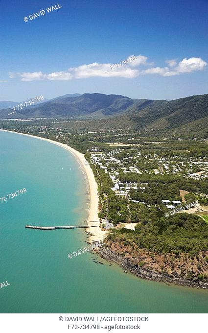 Palm Cove, Cairns, North Queensland, Australia - aerial