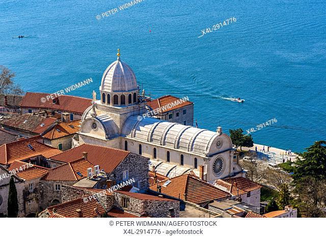 UNESCO World Heritage, Cathedral of Holy Jacob, Katedrala sv. Jakova, Sibenik, Croatia
