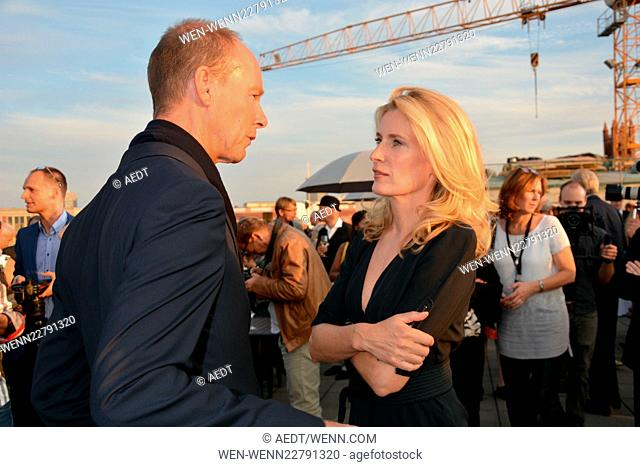 "Opening reception of """"Ufa-Filmnächte"""" at Bertelsmann-Repräsentanz in Berlin Featuring: Thomas Rabe, Maria Furtwaengler Where: Berlin"