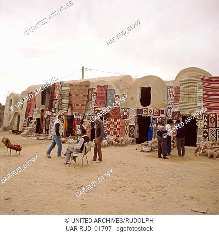 Alltag der Bewohner von Hammamet, Tunesien 1970er Jahre. Everyday life of the residents of Hammamet, Tunisia 1970s