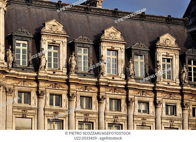Paris, France, Hôtel de Ville