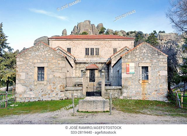 Cueva's Houses in the Sierra de Malagón. Peguerinos. Avila. Castilla Leon. Spain. Europe