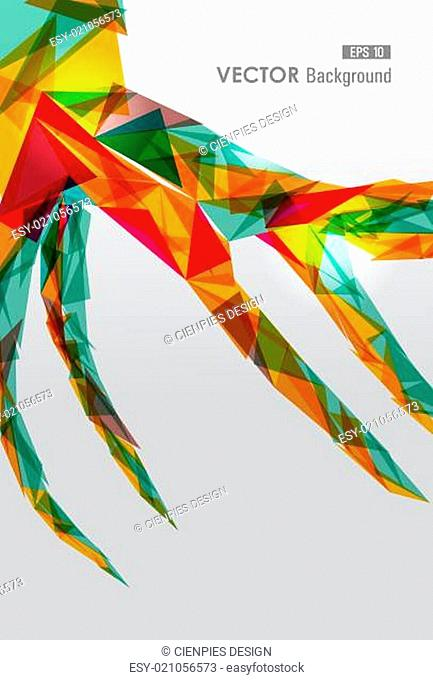 Colorful geometric transparency