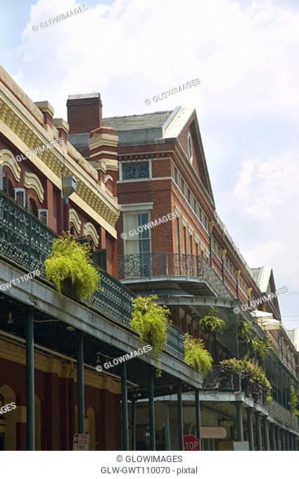 Low angle view of a building, New Orleans, Louisiana, USA